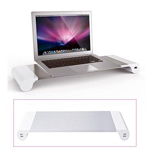 Eplze モニター台 机上台 USB3.0ハブ付き 急速U...