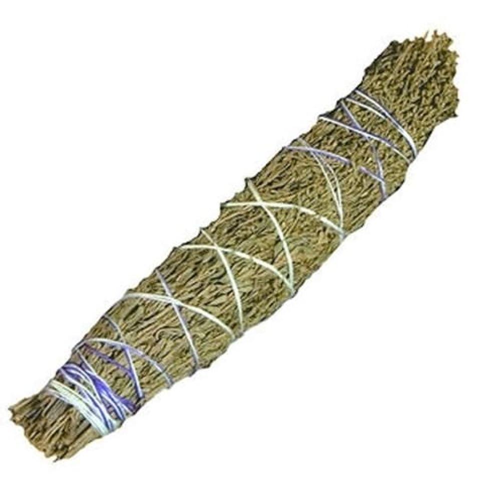 うま成熟した滑る2つSmudge sticks-ラベンダー&セージ、植物