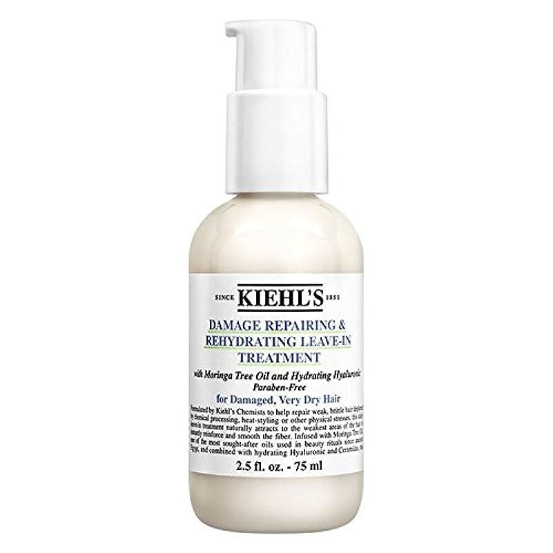 ちらつき理解するセクタ[Kiehl's] キールズダメージ修復&リーブイントリートメント75ミリリットルを再水和 - Kiehl's Damage Repairing & Rehydrating Leave-In Treatment 75ml...