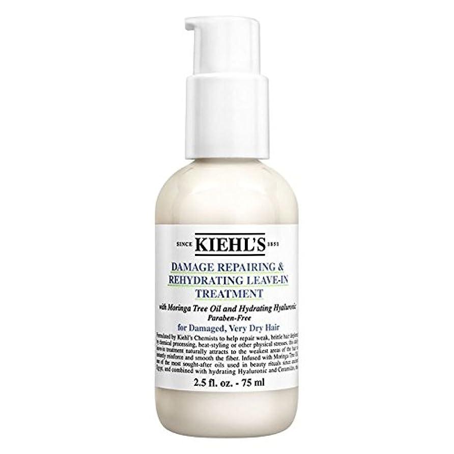 輝く肯定的ダイジェスト[Kiehl's] キールズダメージ修復&リーブイントリートメント75ミリリットルを再水和 - Kiehl's Damage Repairing & Rehydrating Leave-In Treatment 75ml [並行輸入品]