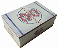 NHL Montreal Canadiansお土産ギフトチケットフォトボックスストレージMemento記念品Tradingカード