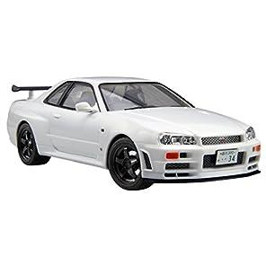 フジミ模型 1/24 カーモデルEASYシリーズNo.1 R34スカイライン GT-R