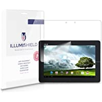 Asus Transformer Pad tf300スクリーンプロテクター[ 2- Pack ]、iLLumiShield–Japanese Ultra Clear HD Film with気泡防止、指紋防止Invisible Shield