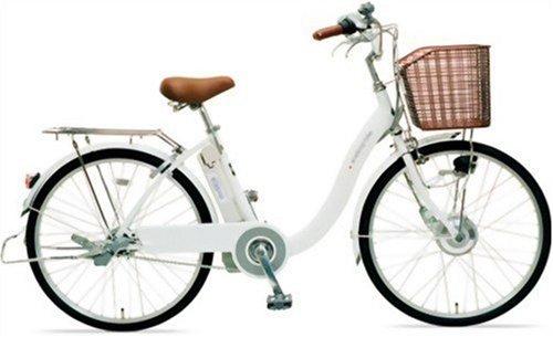 サンヨー 電動ハイブリッド自転車:エネループバイク CY-SPE224(W) CY-SPE224(W)