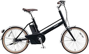 Panasonic(パナソニック) 2017年モデル J・コンセプト 20インチ カラー:マットナイト(漆黒) JELJ01-B 電動アシスト自転車 専用充電器付