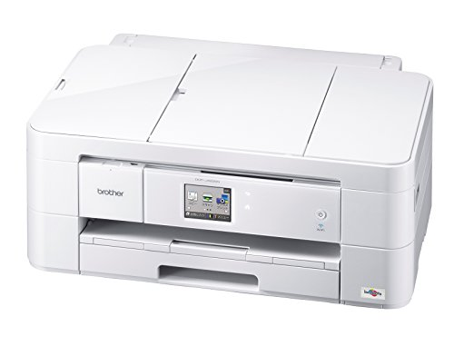 brother プリンター A3 インクジェット複合機  PRIVIO DCP-J4225N-W ホワイト 無線LAN/自動両面プリント/ADF