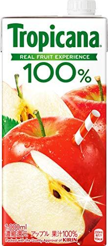 キリンビバレッジ トロピカーナ 100% アップル 1L 1箱 6本