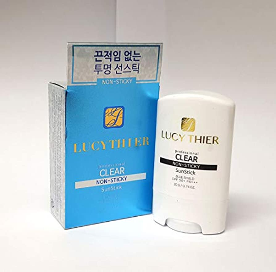 クラックポット旅助言[LucyThier] プロクリアサンスティック20g / Professional clear sun stick 20g / NON STICKY/サンプロテクション/Sun Protection / SPF50+...