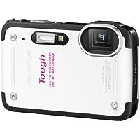 OLYMPUS デジタルカメラ TG-620  1200万画素 5m防水 裏面照射型CMOS 広角28mm ホワイト TG-620 WHT