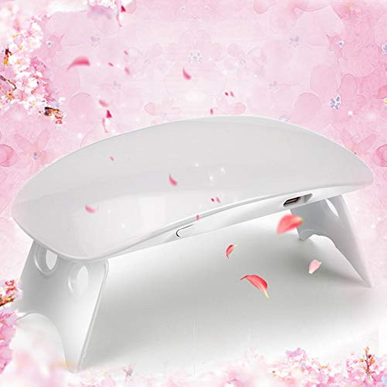 水平処理国家Twinkle Store 6W ホワイト ネイルドライヤー ネイルデザイン ネイルライト 硬化用ライト ネイルアートツール