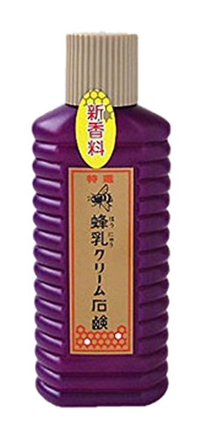 影響するシーボード改修する蜂乳 クリーム石鹸 (特選) 徳用 200ml
