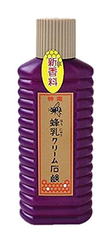 クッション味わうビスケット蜂乳 クリーム石鹸 (特選) 徳用 200ml