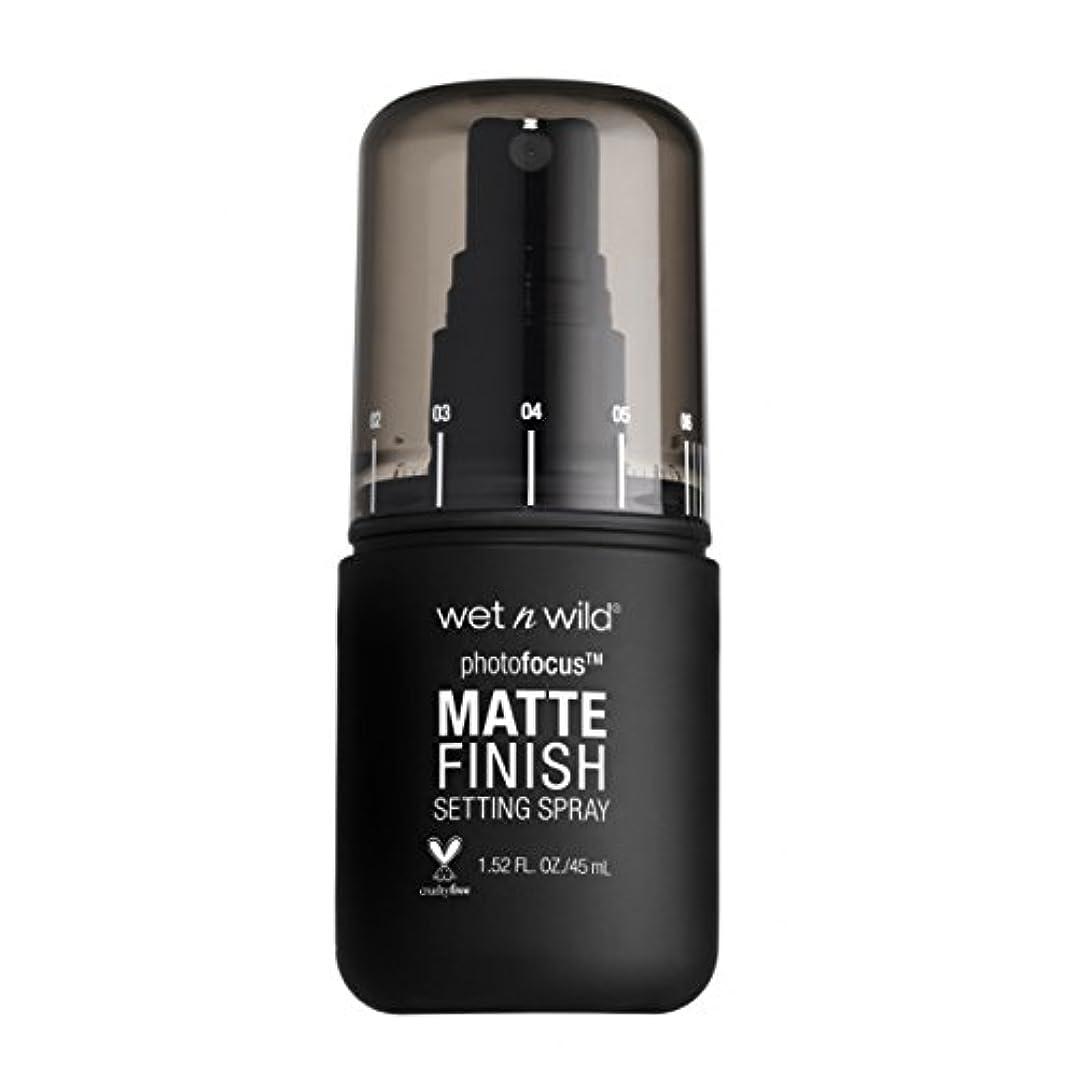 自分の時刻表ツーリスト(6 Pack) WET N WILD Photo Focus Matte Finish Setting Spray - Matte Appeal (並行輸入品)