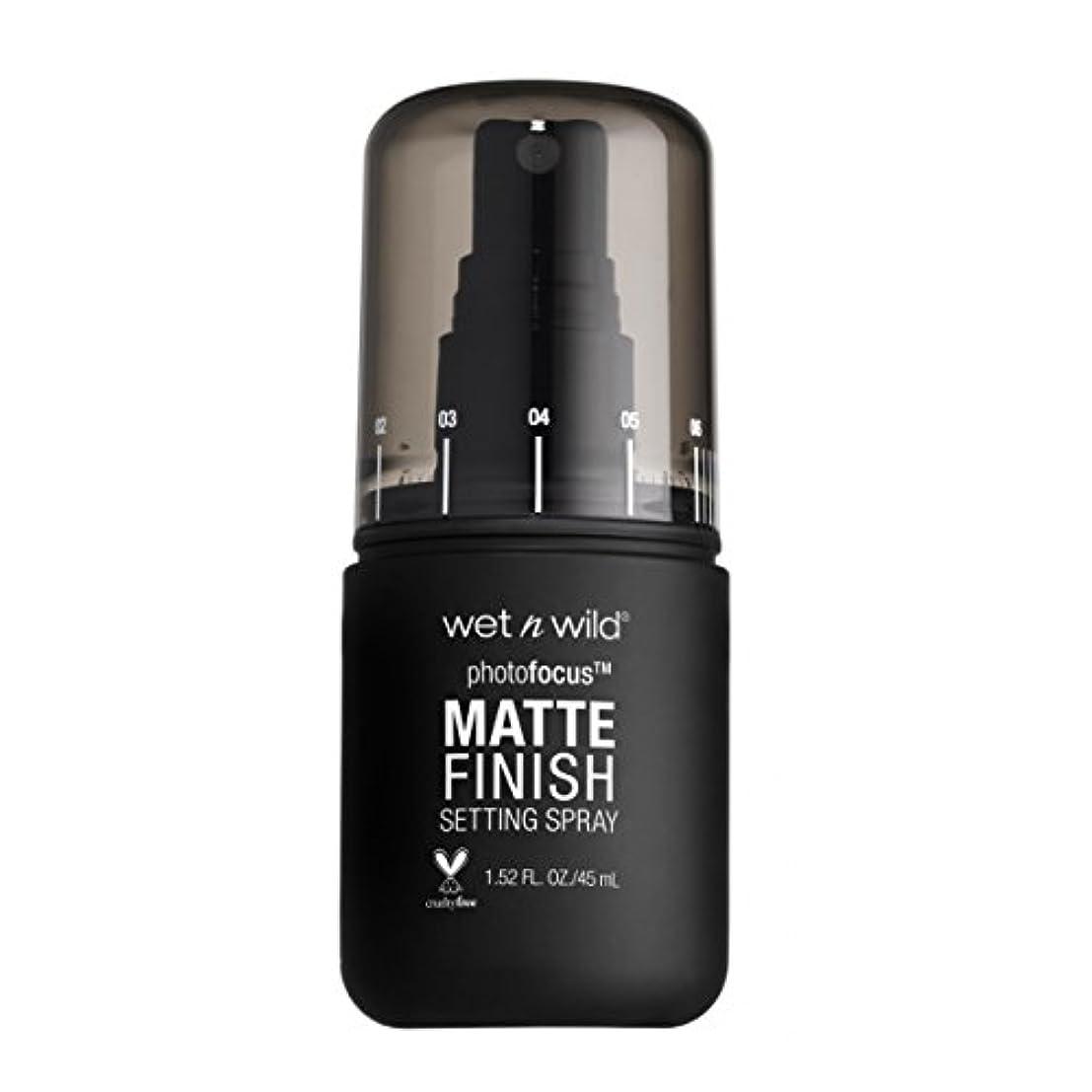ゆりかご乱闘群がる(3 Pack) WET N WILD Photo Focus Matte Finish Setting Spray - Matte Appeal (並行輸入品)