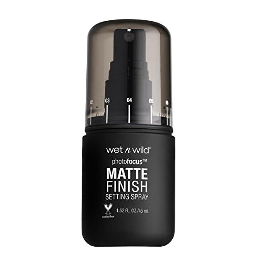 課す管理します弁護(6 Pack) WET N WILD Photo Focus Matte Finish Setting Spray - Matte Appeal (並行輸入品)
