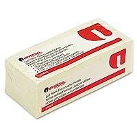 Universal :標準self-stickノート、1–1/ 2x 2、イエロー、12100枚のパッド/パック–: -として販売2Packs of–12–/–Total of 24各