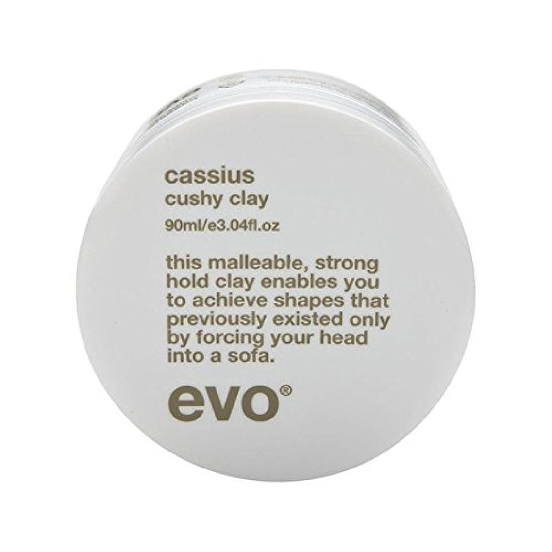敏感な残り十代の若者たちエボカシウス楽な粘土90グラム x2 - Evo Cassius Cushy Clay 90G (Pack of 2) [並行輸入品]