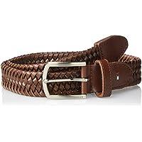 Tommy Hilfiger Men's Two Tone Nubuck Braid Belt