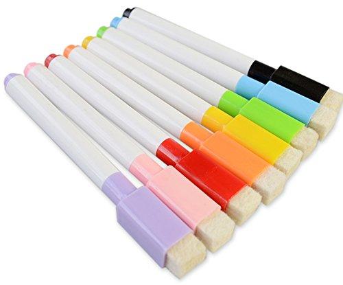 (デイリー スウィート)Daily Sweet ホワイトボード用マーカー イレーザー マグネット付き 8色セット