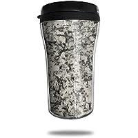 MIKAL(ミカオ) コンビニマグ 250ml 花崗岩-テクスチャー タンブラー 蓋付き コーヒー おしゃれ ギフト 贈り物