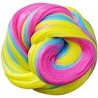 inverleeふわふわFloam SlimeコットンMudおもちゃ香りつきStress Relief No Borax Kids Toy Sludge Toy