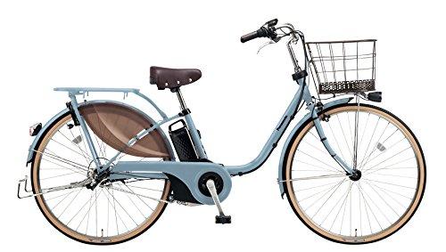 Panasonic(パナソニック) 2018年モデル ビビスタイル 26インチ カラー:マットブルーグレー BE-ELDS634-V2 電動アシスト自転車 専用充電器付