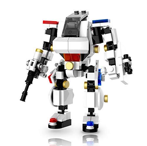 MyBuild Mecha フレームビルディングブロック ロボット ミーチ トイセット リオ ポリス 5013