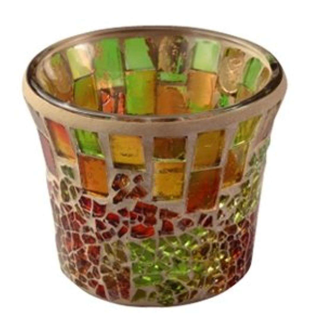 ブロンズレースカヌーキャンドル モザイクカップ クラシーク