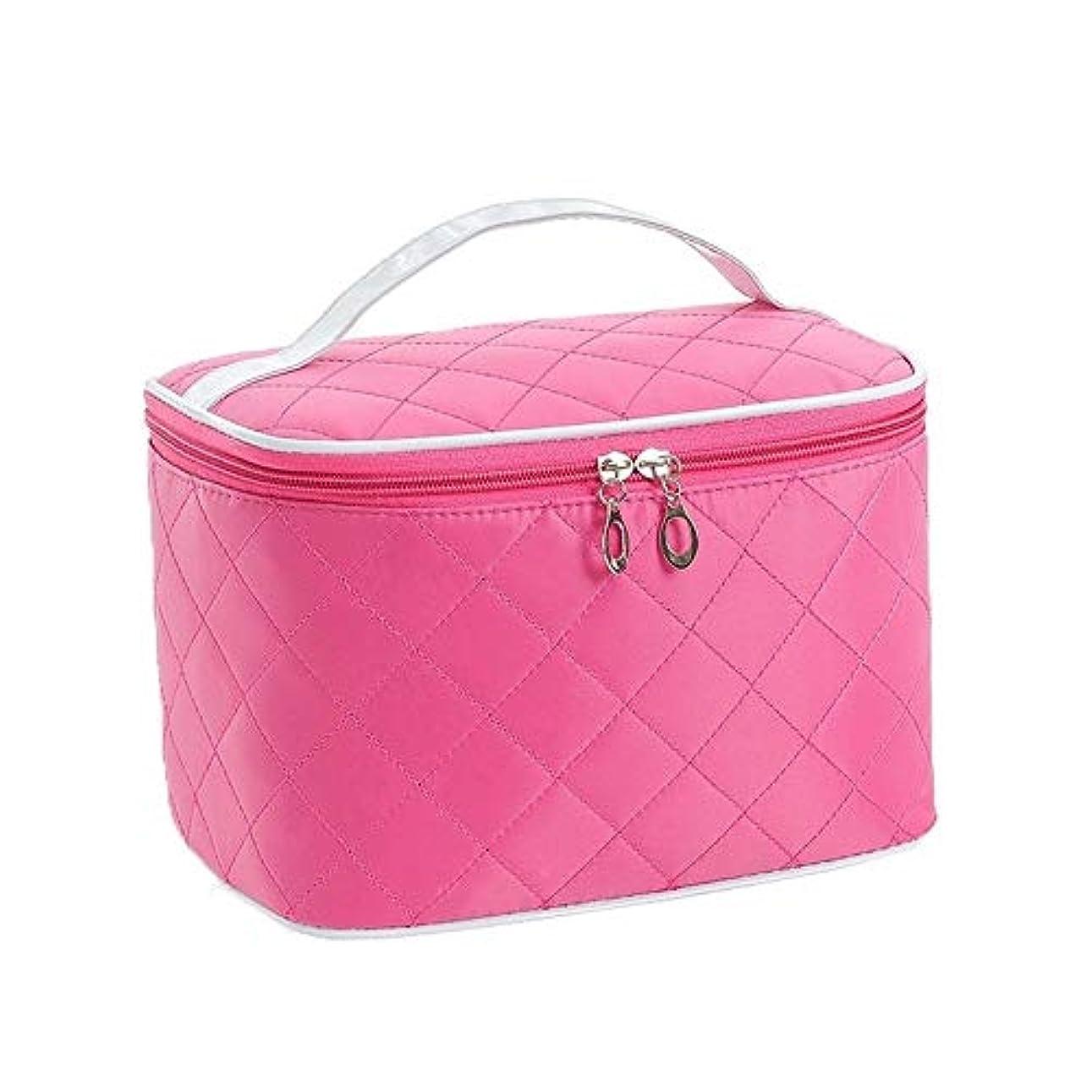 ジーンズとティームグリットVenenos ハンドル収納袋が付いている化粧箱の大きい宇宙旅行化粧品の箱のポータブル化粧品袋
