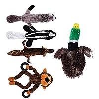 PETSOLA 5個セット 犬の噛み付き ぬいぐるみ ペット用品
