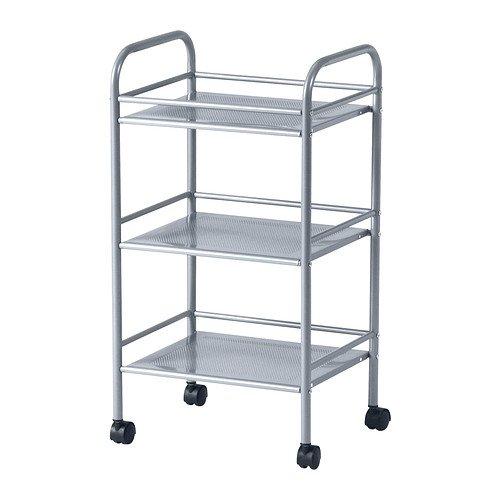 RoomClip商品情報 - IKEA(イケア) DRAGGAN ワゴン シルバーカラー