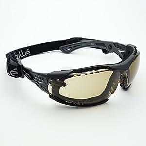 bolle RUSH PLUS サングラス ゴーグル バイク スノボ スキー スポーツ サバゲー MTB_GY/トワイライト