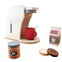 TOYMYTOY コーヒーメーカー おもちゃ 子供 おままごとセット カフェマシン コーヒーショップ ごっこ キッチンウェアセット 家事おもちゃ 知育おもちゃ 親子遊び
