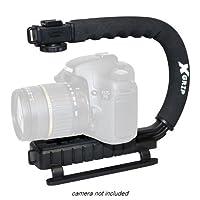 Opteka x-gripプロフェッショナルDSLRデジタルカメラ安定ハンドグリップハンドルスタビライザーハンドヘルドビデオアクションサポートホルダーfor Sigma sd1sd9sd10sd14sd15