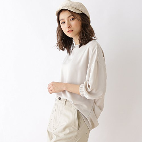 (オゾック) OZOC 【洗える】ボートネックシャツ 16284015