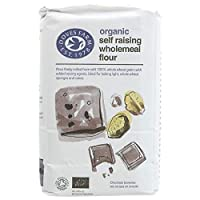 Doves Farm - Organic Self Raising Wholemeal Flour - 1Kg (Case of 5)