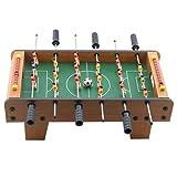 【Cheng-store】テーブルサッカーゲームテーブル 木製のおもちゃサッカーテーブルスポーツボード 親子スポーツ 少年教育玩具 ミニ屋内のおもちゃ 家族のサッカーの試合 20インチー