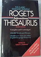 Roget's International Thesaurus 4th Fourth Edition [並行輸入品]
