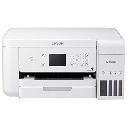 エプソン A4カラープリント対応 エコタンク搭載 インクジェット複合機(ホワイト)EPSON EW-M630TW