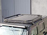 Jeep Wrangler JK 専用 オフロード アルミルーフラック ジープ ラングラー