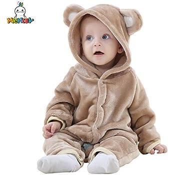 12cfd844233c0 ベビー 着ぐるみ ロンパース もこもこ カバーオール かわいい キッズ コスチューム 防寒着 男の子 女の子 出産祝い  (100CM(19-24ヶ月)