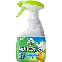 スクラビングバブル 浴室?浴槽洗剤 強力バスクリーナー フルーティアップルの香り 本体 400ml