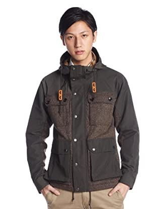 Wool 60/40 Cloth Mountain Parka 11-18-1883-152: Brown
