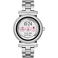 Michael Kors Women's MKT5020 Smart Digital Silver Watch