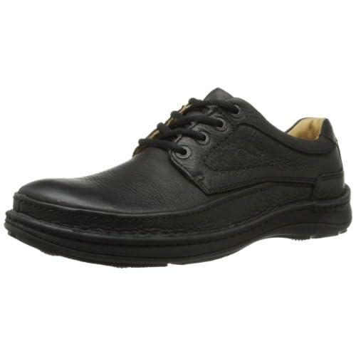 [クラークス] Clarks Nature Three 20339008 Black Leather(Black Leather/UK7.5)