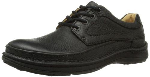 [クラークス] Clarks Nature Three 20339008 Black Leather(Black Leather/UK8)