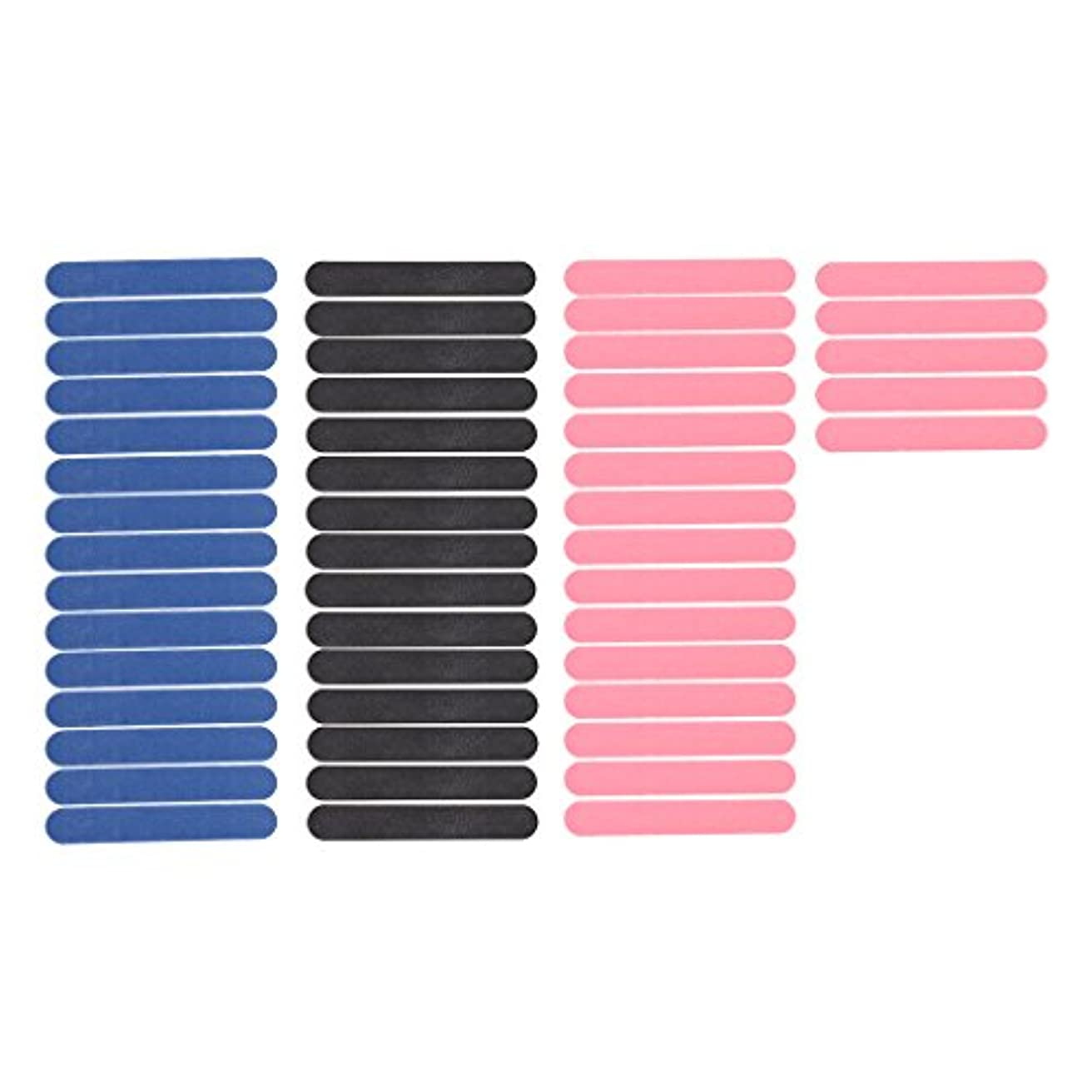 着る論理的に生理KOZEEY 約50個 ネイルファイル ミニ 両面 ネイル ファイル マニキュア プロ ネイルサロン ネイルトリートメント サンドペーパー ネイル道具