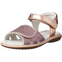 Clarks Girls' Primrose Fashion Sandals, Rose Gold Glitter