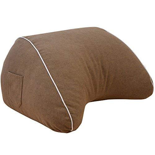 寝ながらスマホ スマホ収納ケースが付いた スマホ枕 約 幅65×奥行50×高さ35センチ 日本製 クッション スマートフォン
