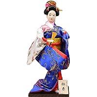 和風の美しい着物芸者/舞妓人形/ギフト/ジュエリー-A29